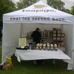Teapigs Event Tent for exhibitions and events