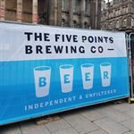 Beer Festival Fabric Banner Printing