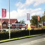 Roxford Homes Showhome Construction Flags