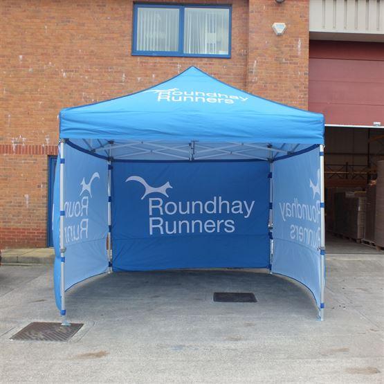 Roundhay Runner Gazebo Printing