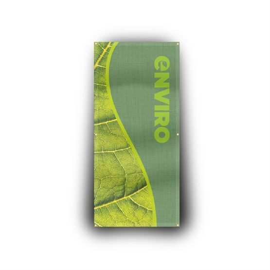 Eco friendly fabric banners