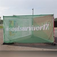 Mesh Fence Cover