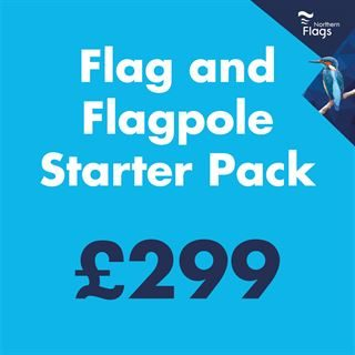 Flag and Flagpole Starter Pack