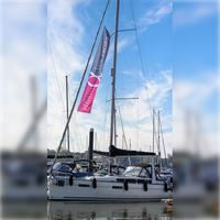 Forestay Flags in knitted polyester