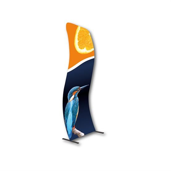 curved fabric stands uk