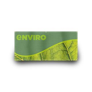 Eco friendly display banners