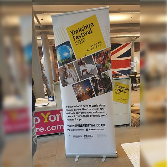 Yorkshire Printed Roller Banners