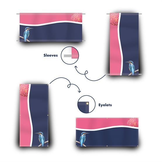 Fabric Banners for advertising