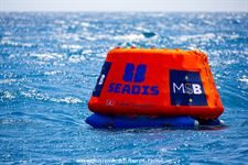 Printed covers for sailing buoys