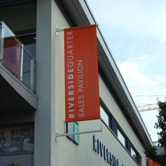 Lamp Post Banner Flag