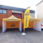 Cats Bespoke Branded Event Tents and Canopies