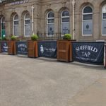 Sheffield Tap Retail Cafe Barriers
