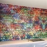 Brick Effect Wall Covering