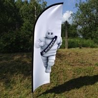 Custom Cut Feather Flags