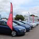 Low Cost Feather Flags Automotive