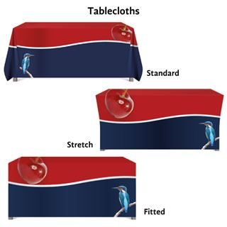 Custom Tablecloths, Printed Tablecloths, Tablecloths, Northern Flags, Custom Printed Table Cloths, Custom Table Cloths UK