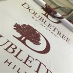 Double Tree Hilton Hotel Banner Printing