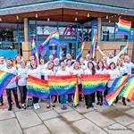 West Yorkshire Playhouse Handwaving Flags