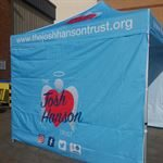 Charity event tents