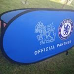Pop out banner printing