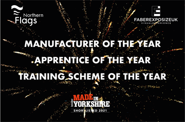 Northern Flags lands three manufacturing awards nominations