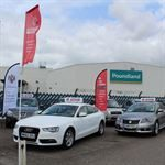Chester Car Supermarket Flagpoles for sale