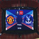 FA Cup Final Pitch Banner