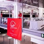 Virgin Wines Event Fabric Banner Printing
