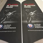 British Music Experience Feather Flags