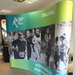 Curved Media Wall for Exhibitions