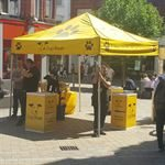 Branded Dogs Trust Exhibition Event Tent